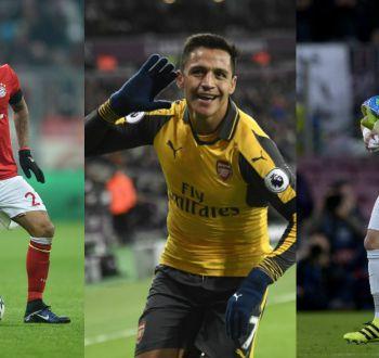 ¿Cuándo juega Alexis, Bravo y Vidal?: Acá la agenda de los futbolistas chilenos en Europa