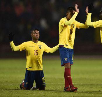 [VIDEO] La guerra de goles entre Ecuador y Colombia en el Sudamericano Sub 20