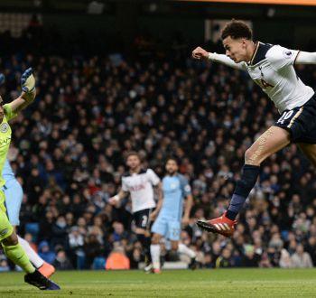 Manchester City de Bravo desaprovecha ventaja y solo empata frente a Tottenham