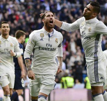 Real Madrid supera al Málaga y se convierte en campeón de invierno en España