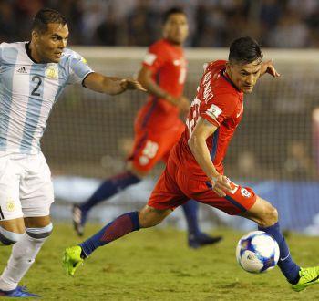 [FOTOS] Las mejores postales del duelo entre Argentina y Chile por Clasificatorias