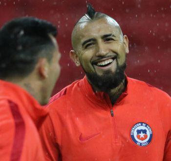 """El mensaje de Arturo Vidal: """"Lo más hermoso del fútbol es vestir la camiseta de mi país"""""""