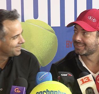 [VIDEO] Massú contra González: Viejos amigos a la cancha