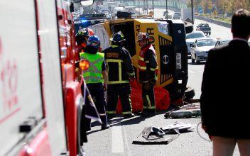Accidente en autopista central deja una persona fallecida