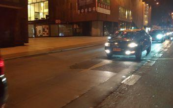 Taxistas realizan caravana por la muerte de colega tras incidentes con conductor Uber