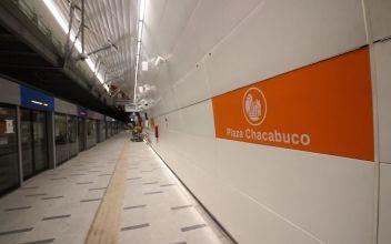 [VIDEO] Línea 3 del Metro: Vecinos del norte de Santiago ahorrarán 220 horas al año en viajes