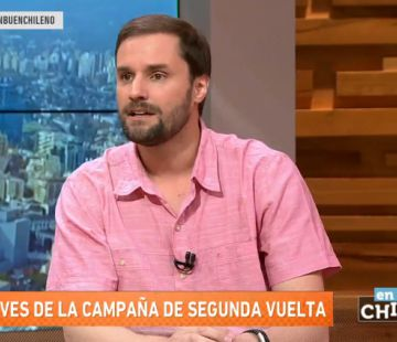[VIDEO] Jaime Bellolio: Yo no creo que Alejandro Guillier quiera transformar a Chile en Venezuela