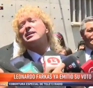 [VIDEO] ¿Farkas será candidato?: esta es la respuesta del empresario