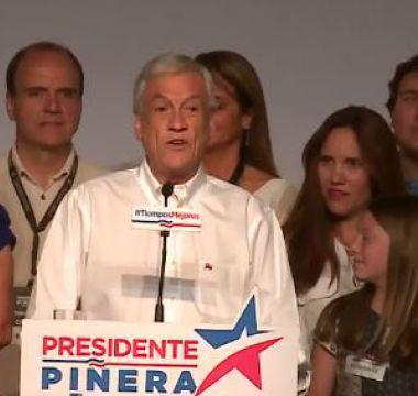 [VIDEO] Sebastián Piñera: Hemos logrado un gran resultado electoral
