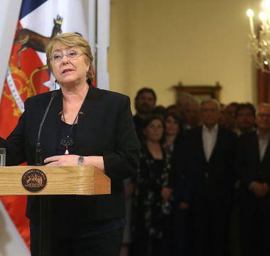 Bachelet hace llamado al progresismo a proyectar reformas de cara a segunda vuelta