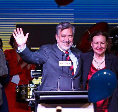 Guillier celebra paso a segunda vuelta reforzando la idea de unidad en la centroizquierda