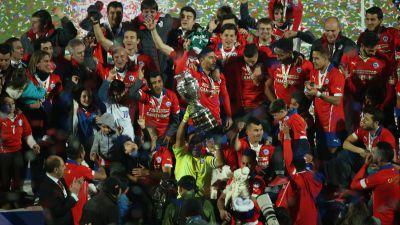 Chile campeón de Copa América Chile 2015