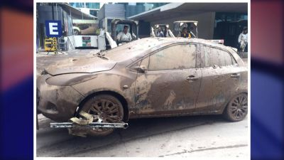 Afectada por el desborde del río Mapocho rechazó indemnización por su auto dañado