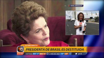 Las primeras reacciones de la destitución de Rousseff