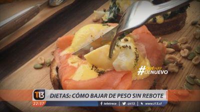 #Quéhaydenuevo: Dietas ¿cómo bajar de peso sin rebote?