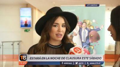 Lali Espósito y su presentación en Viña: Es un show bien power
