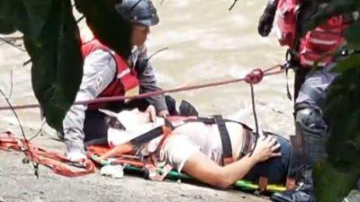 Un chileno resultó herido en protesta en Venezuela
