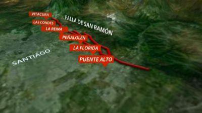 [VIDEO] Los peligros de la Falla de San Ramón