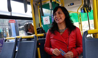 Ministra de Transportes: El Transantiago tiene que dejar de ser una bandera política