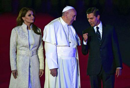 El papa llega a México tras histórico encuentro con patriarca ortodoxo ruso