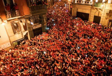 Los impactantes WhatsApp de los detenidos por violación múltiple en San Fermín