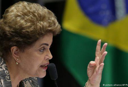 Rousseff compareció casi 14 horas ante el Senado de Brasil