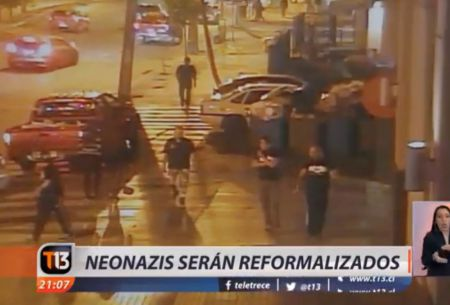 [VIDEO] Reformalizan a neonazis que apuñalaron a un grupo de punks