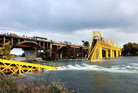 Colapso puente Pitrufquén