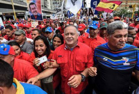 La oposición venezolana ha realizado numerosas manifestaciones callejeras para exigir la realización del referendo revocatorio.