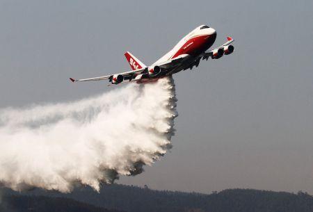 Vocero del Supertanker: Había desconocimiento de las capacidades del avión