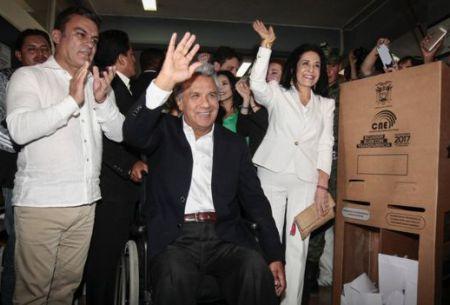 Ecuador: el oficialista Lenín Moreno obtiene la mayoría de votos según resultados preliminares