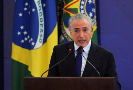 Brasil investiga sobornos de Petrobras a senadores del partido de Temer