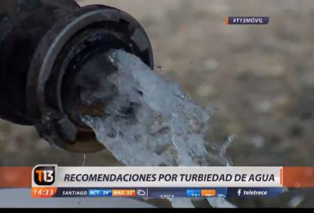 Corte de agua: experta entrega recomendaciones para el consumo seguro
