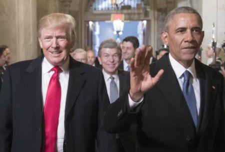 Trump acusa a Obama de estar detrás de las filtraciones y las protestas