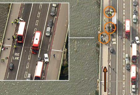 Ataque en Londres: el gráfico que muestra lo que ocurrió en Westminster