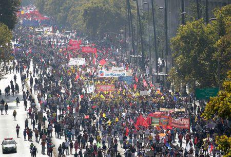 Gran convocatoria tuvo la marcha No+AFP