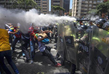 Comunidad internacional en alerta por violencia en Venezuela