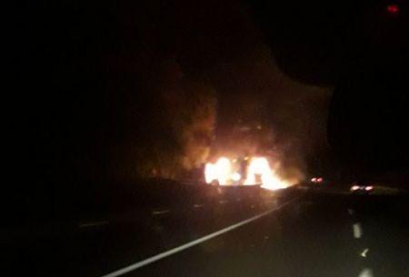 Atacan a siete camiones en un nuevo atentado en la Araucanía