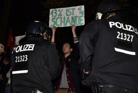¡Nazis fuera!: manifestaciones en Alemania en contra de los ultraderechistas
