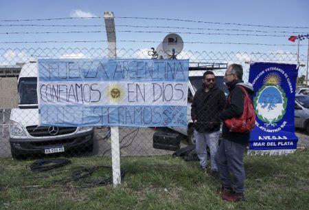 Submarino argentino no da señales en medio de temporal en Atlántico Sur