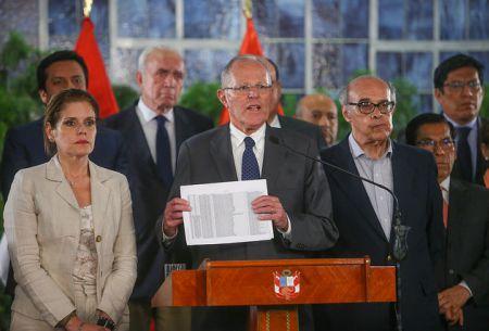 Kuczynski y Caso Odebrecht: No voy a abdicar a mis responsabilidades como presidente