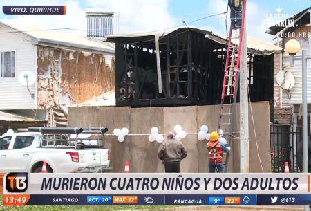 [VIDEO] La hipótesis que se maneja como causa del trágico incendio en Quirihue