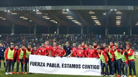 La selección nacional está con Pablo Otárola