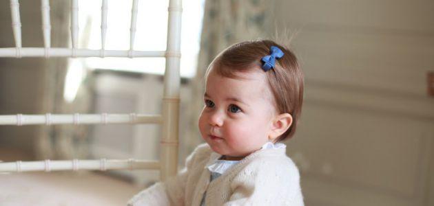 [FOTOS] Las tiernas imágenes de la princesa Charlotte a horas de su primer cumpleaños