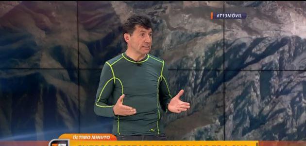 Montañista por accidente de jóvenes: Las condiciones atmosféricas eran muy malas y eso afectó
