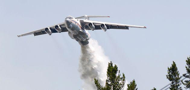 Conaf confirma que avión ruso Ilyushin Il-76 vive sus últimos días en el país