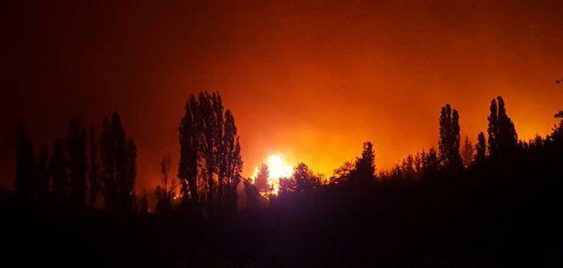 Onemi ordena evacuación de cuatro mil personas en Catillo debido a incendios forestales