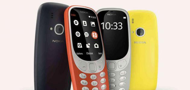 Nokia presenta finalmente a su renovado e icónico modelo 3310