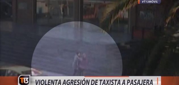 Trabajadora fue agredida por un taxista tras denunciar una tarifa adulterada