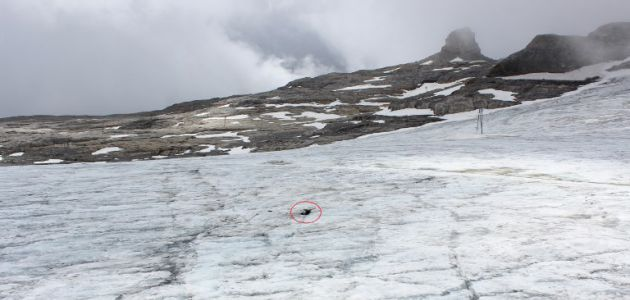 Entierran a una pareja suiza arrastrada por un glaciar 75 años después de su muerte